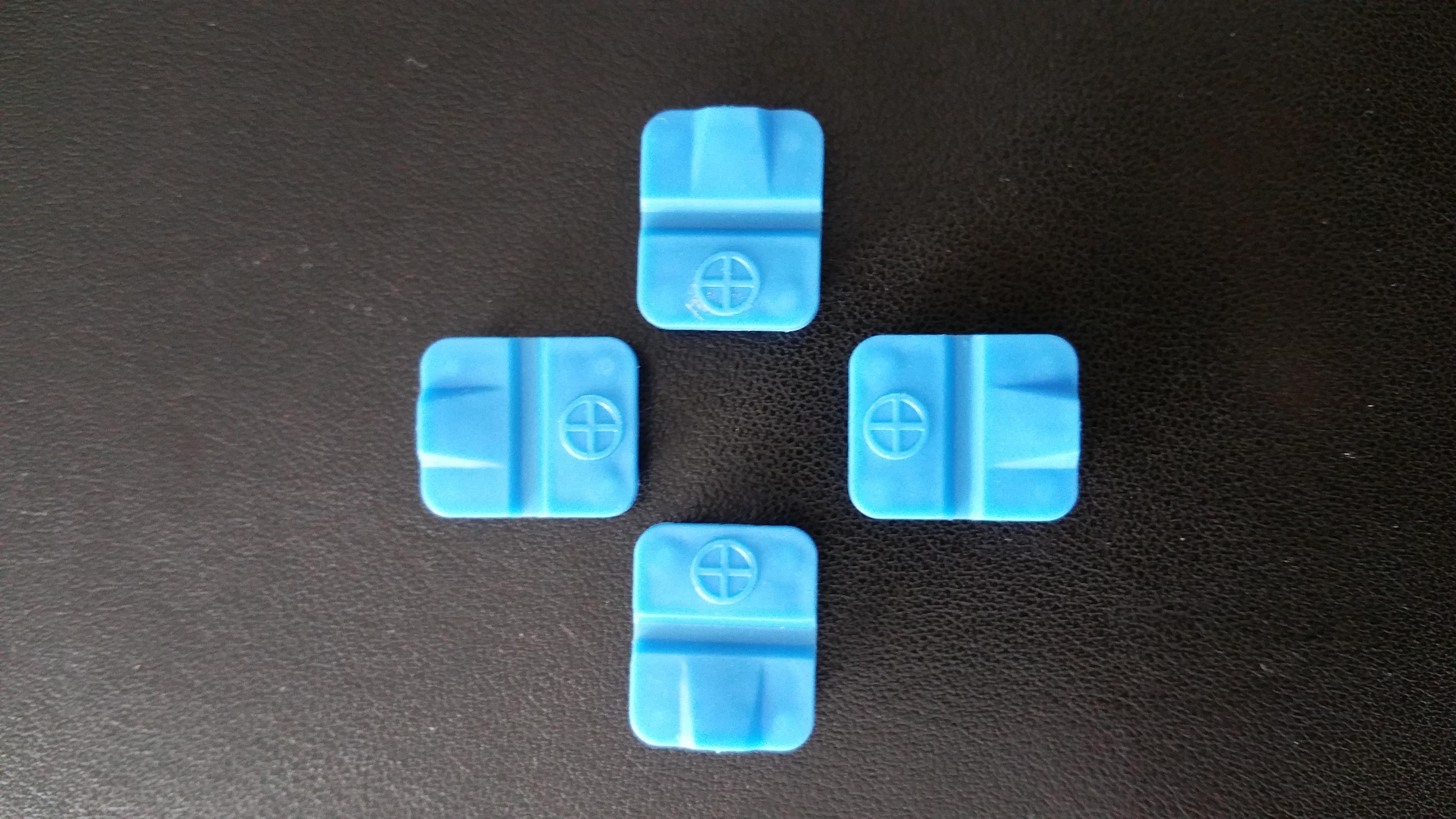 Scharnier blau